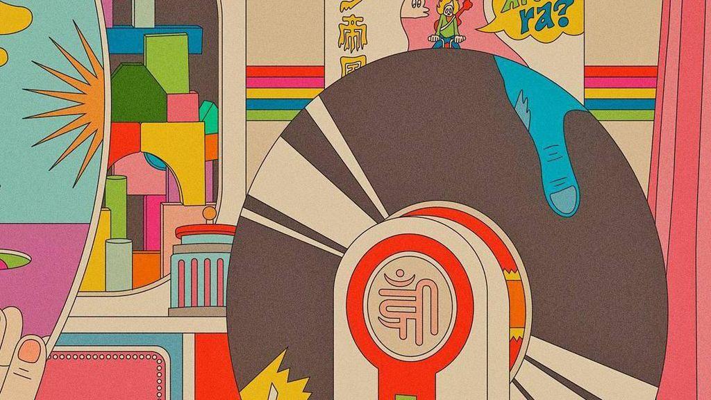 Karya-karya Kendra Ahimsa Terpengaruh oleh Poster Vinyl