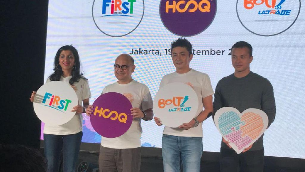 First Media dan Bolt Gandeng Hooq