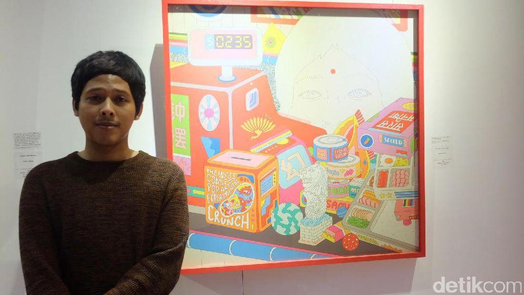 Cerita Kendra Ahimsa Ciptakan Karya Terinspirasi dari Singapura