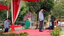 Djarot Pimpin Upacara Peringatan Ikada, Puluhan PNS Telat