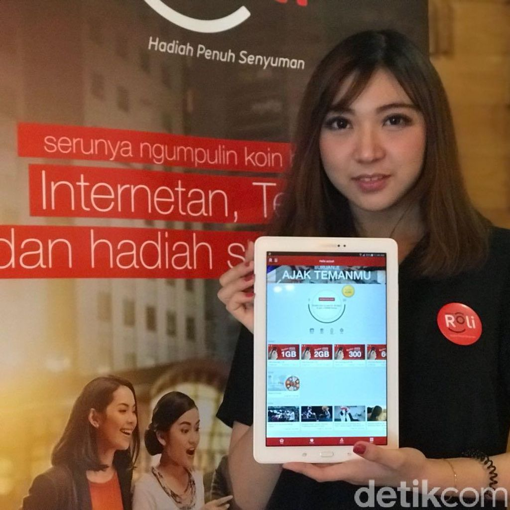 Telkomsel Bagi-bagi Paket Data Lewat Roli