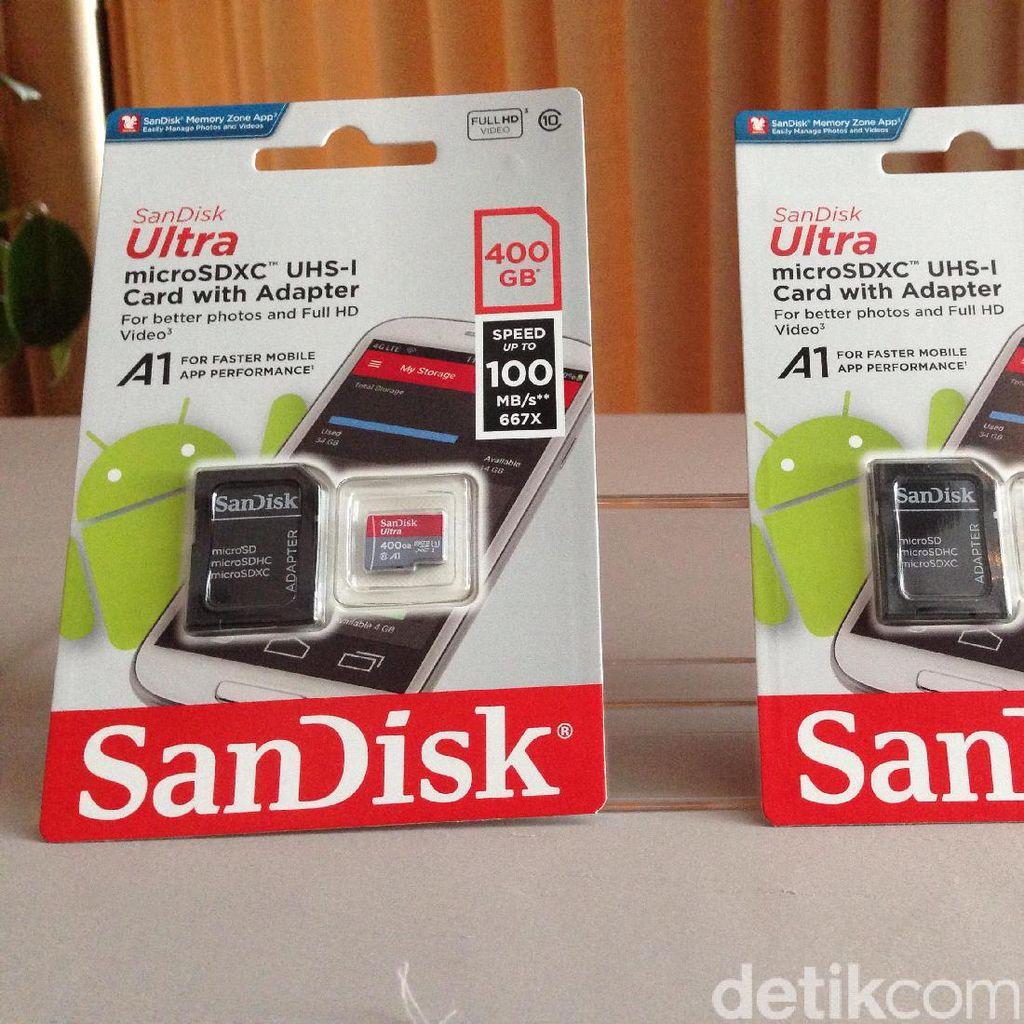 Smartphone Apa yang Bisa Gunakan MicroSD 400 GB?