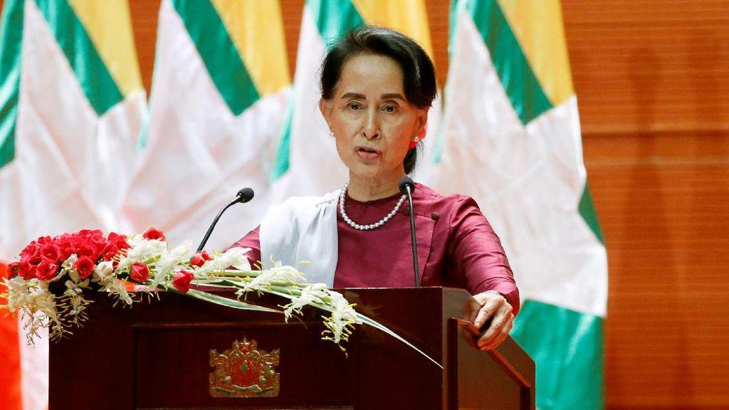 Suu Kyi Bantah Melunak terhadap Militer Myanmar Terkait Rohingya