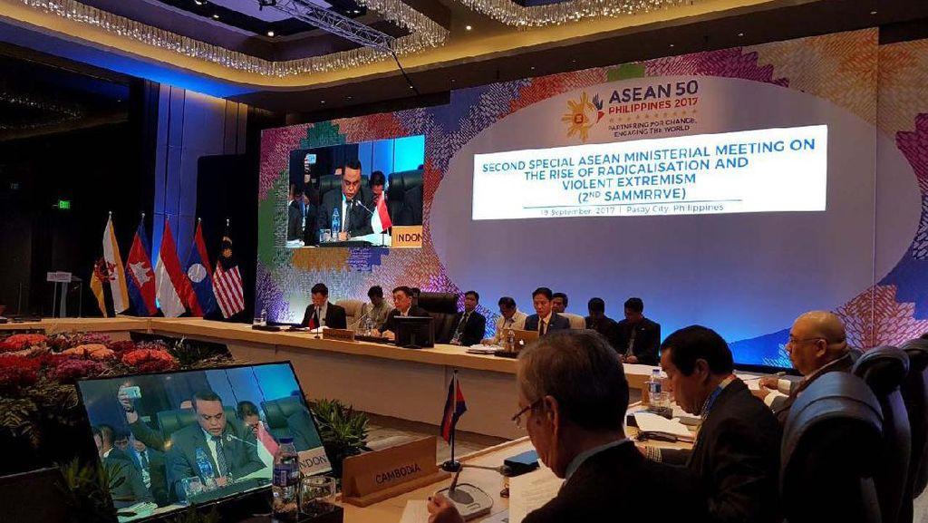 Wakapolri Berbagi Strategi Atasi Terorisme di Tingkat ASEAN