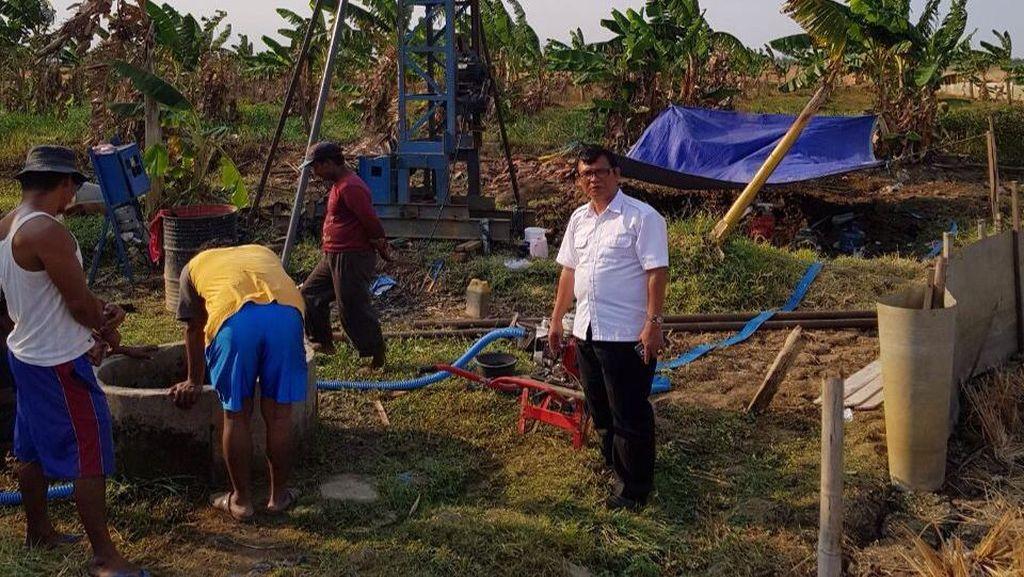 Atasi Kekeringan, Kementerian PUPR Lakukan Pengeboran Air Tanah
