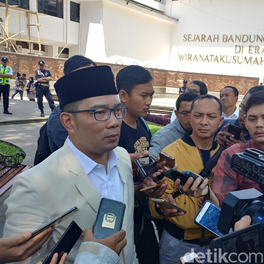 Novanto Tunjuk Ridwan Kamil Jadi Cagub, PPP Pikir-pikir Lagi