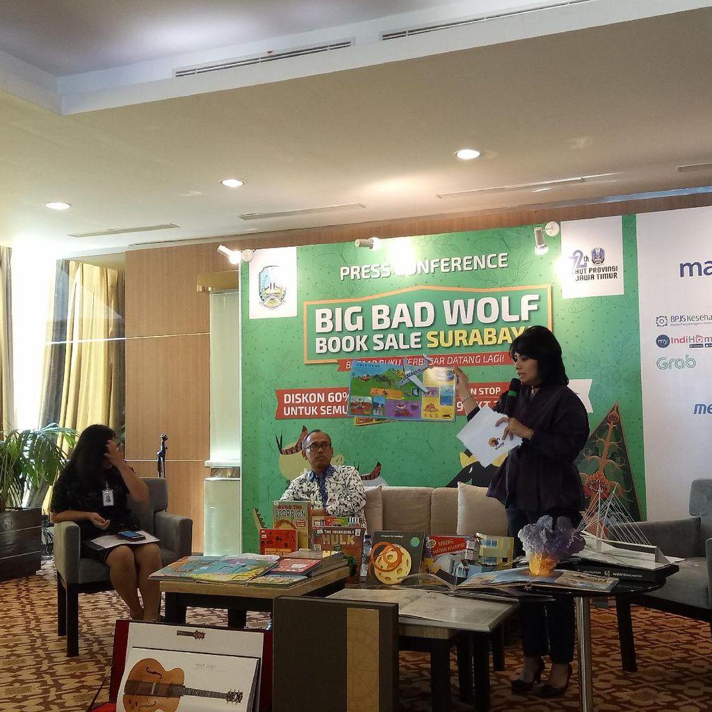 Big Bad Wolf 2017 Hadir Kembali di Surabaya dengan 2,5 Juta Buku