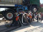 Tak Ada Korban Jiwa di Kecelakaan Truk Gilas Mobil di Semarang