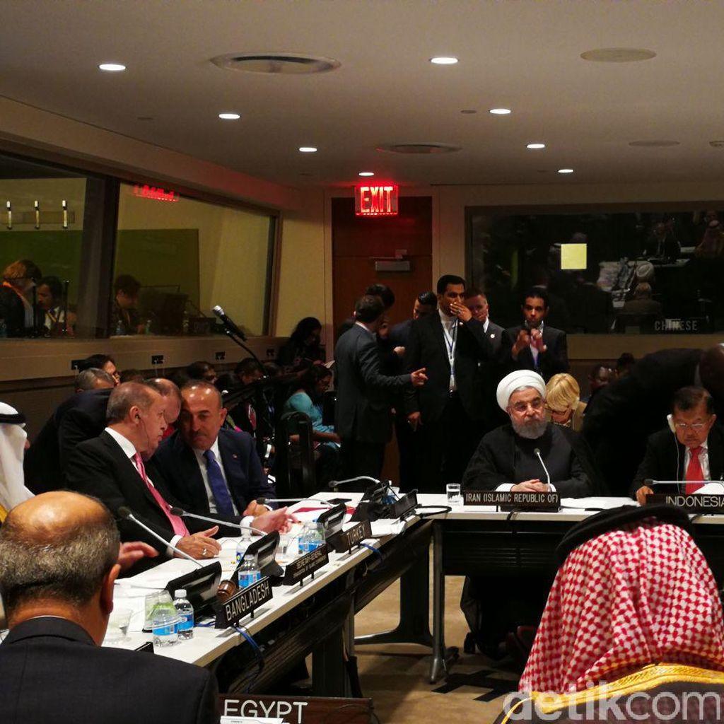 Di PBB, RI Ajak Negara OKI Beri Bantuan Logistik ke Rohingya
