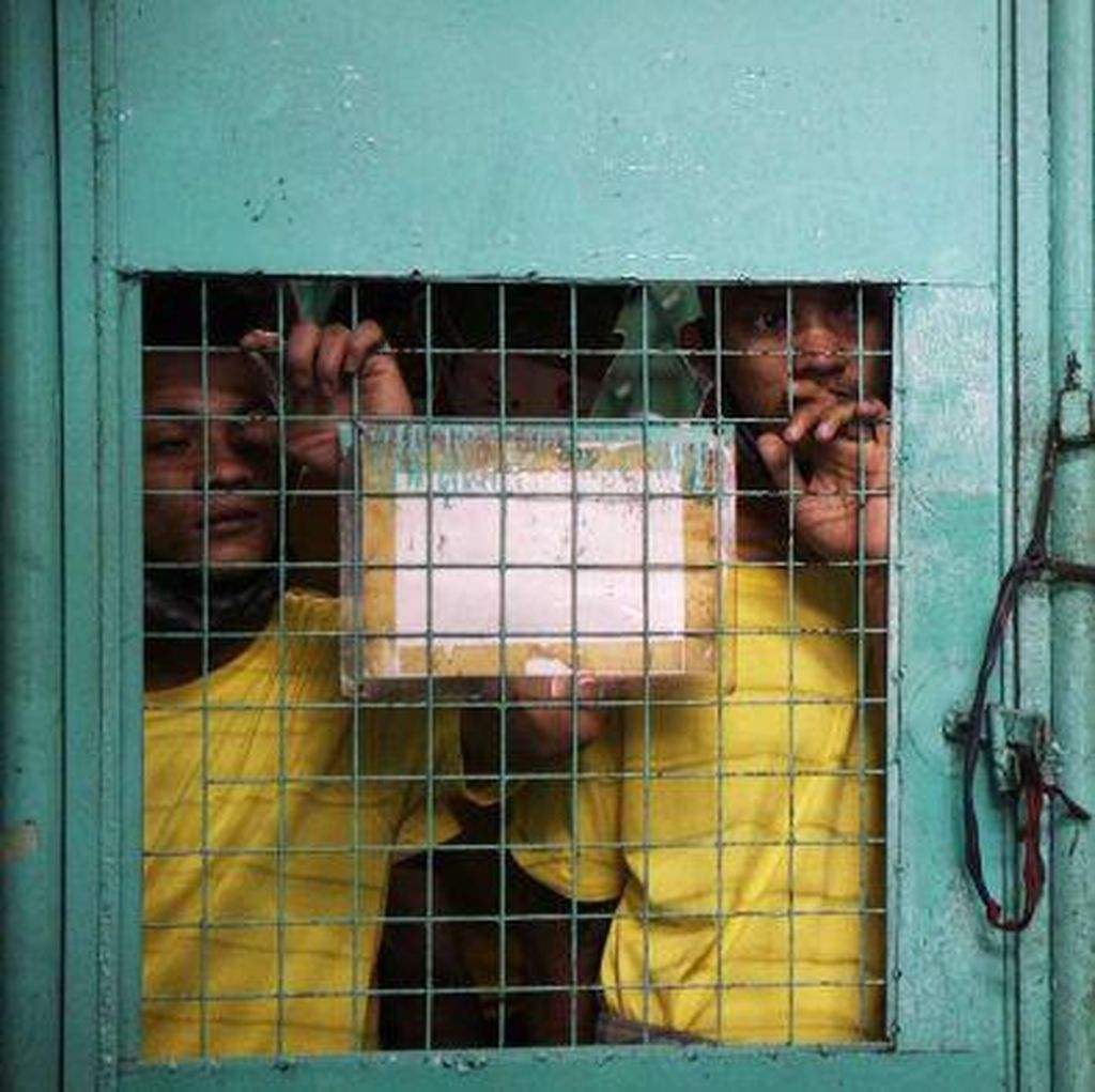 Banyak Tahanan Kelaparan Akibat Pemberantasan Narkoba di Filipina
