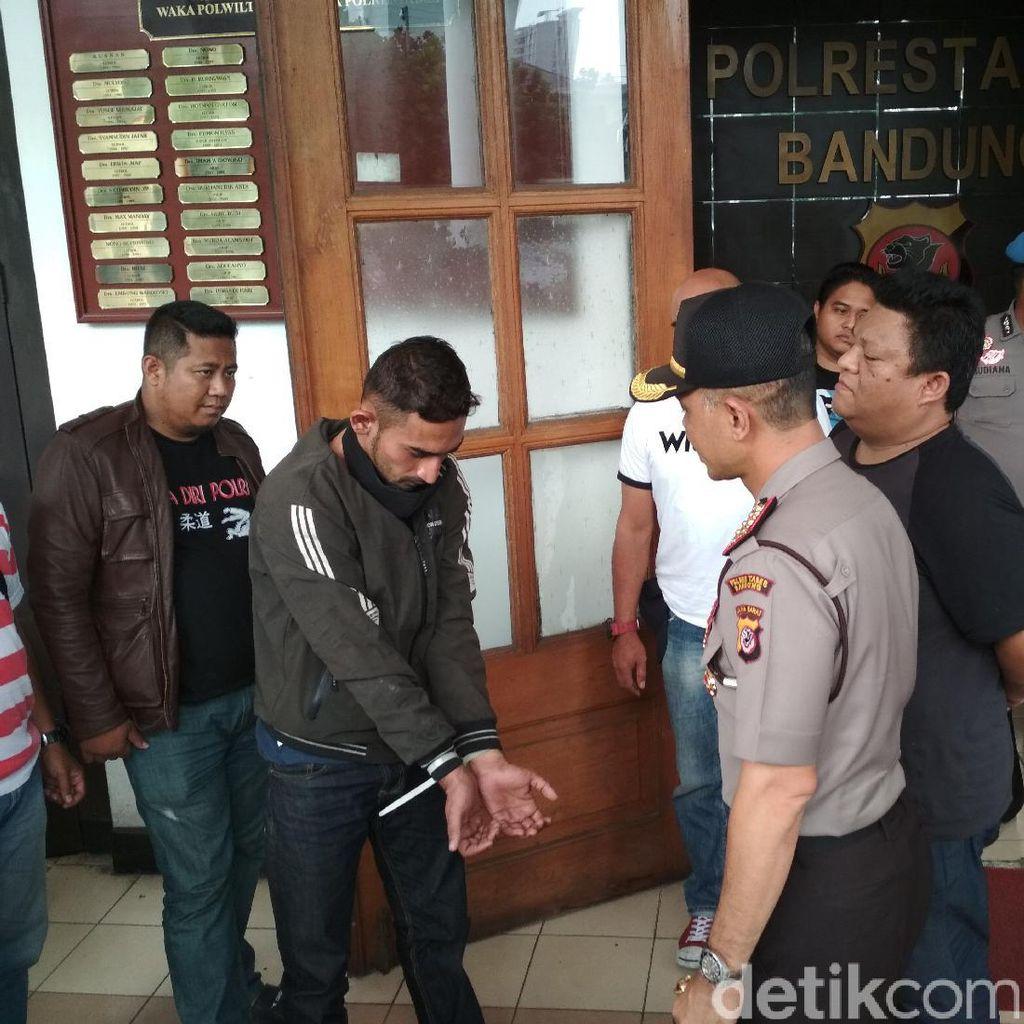 Gasak Uang Puluhan Juta di Alfamart Bandung, Joe Diciduk Polisi