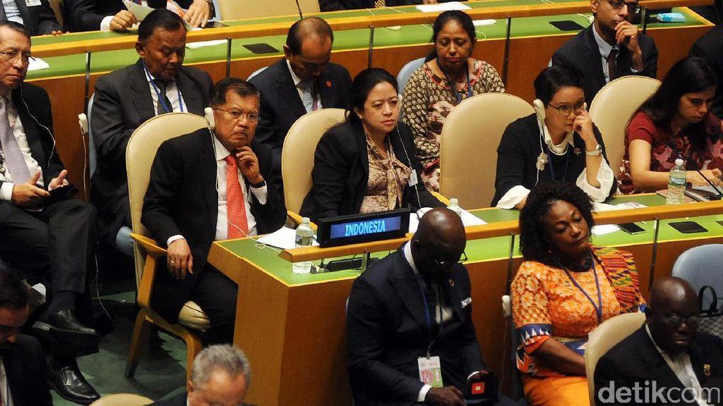 Wapres JK Hadiri Pembukaan Sidang Umum PBB