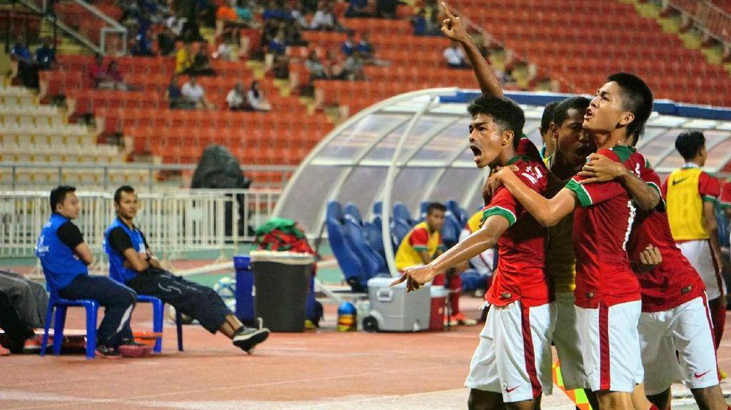 Karena Timnas U-16 Bisa Memanfaatkan Lemahnya Pertahanan Thailand