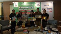 Big Bad Wolf Fair Surabaya Sediakan 70 Persen untuk Buku Anak-anak