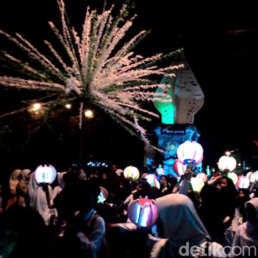 Ribuan Santri di Purworejo Gelar Pawai Sambut Tahun Baru Islam