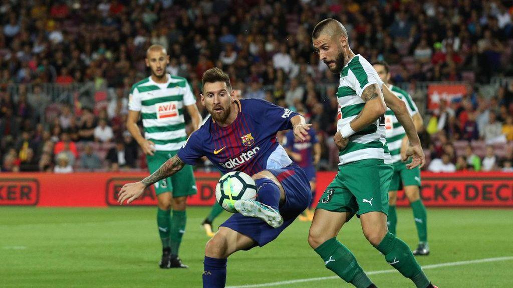 Saat Barca Hantam Eibar, Messi Bagai Makhluk Dari Planet Lain