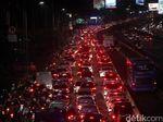 Mengular, Begini Kemacetan Tol Dalkot Jelang Libur Tahun Baru Islam