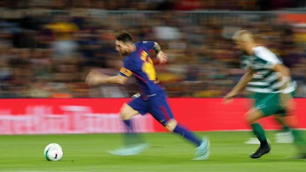 Messi Sudah Tembus 300 Gol di Camp Nou