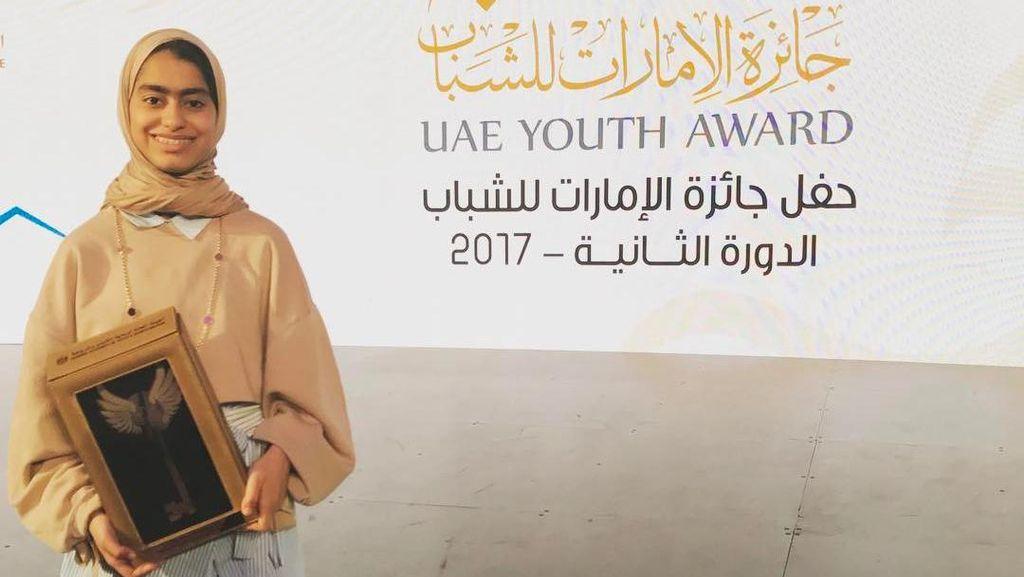 Ini Fatima Al Kaabi, Hijabers Penemu Robot Termuda di Uni Emirat Arab