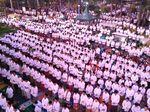Ribuan Warga Kediri Gelar Doa Bersama Rayakan Tahun Baru Islam