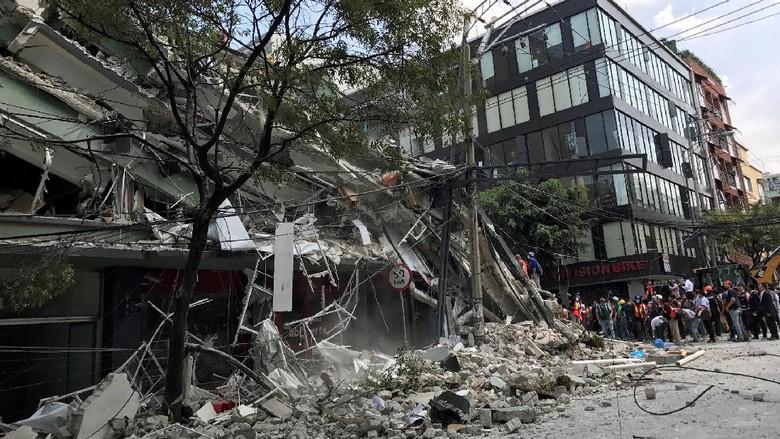 Meksiko Kembali Diguncang Gempa, Kekuatannya 6,2 SR