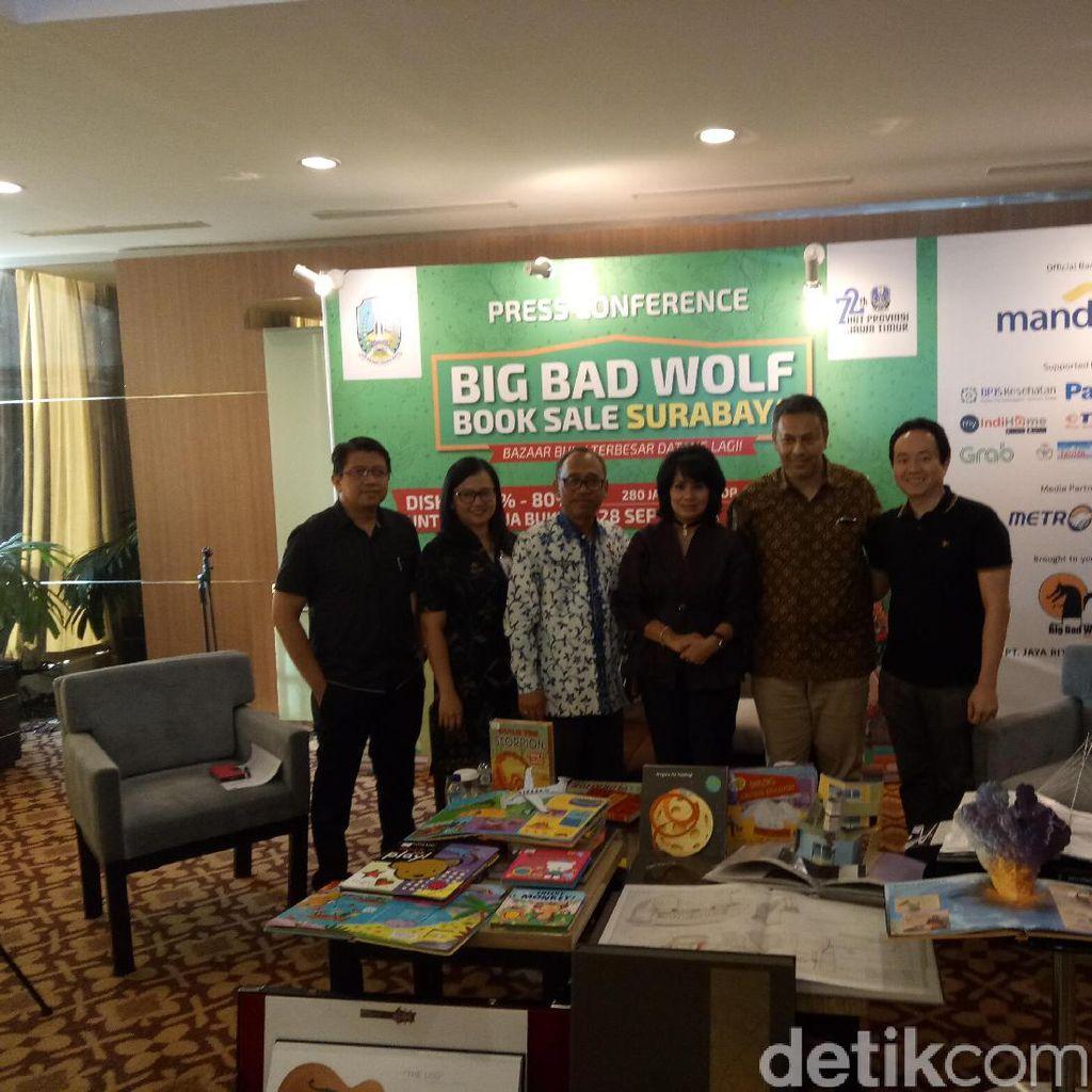 Pemprov Jawa Timur akan Bagikan Voucher Buku di 300 Sekolah dan Pesantren