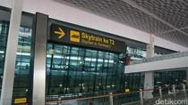 Begini Cara Naik Skytrain Bandara Soekarno Hatta