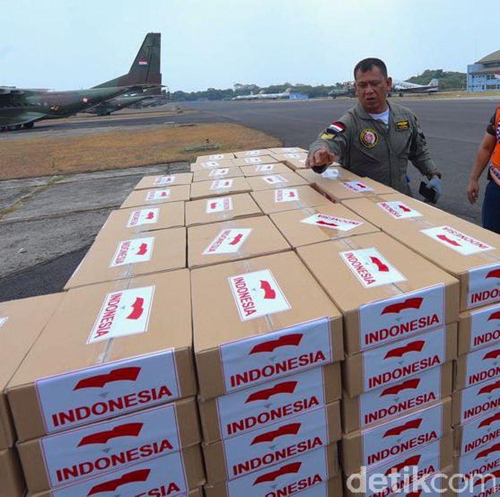 Akhirnya, Bantuan Kemanusiaan Indonesia Tiba di Myanmar
