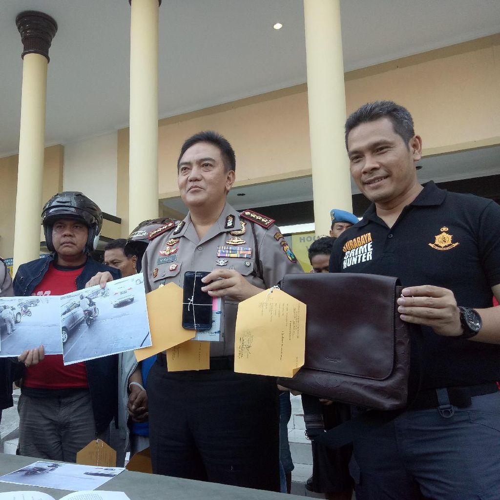 Polisi Amankan Pencuri Tas Milik Anak Wali Kota Surabaya