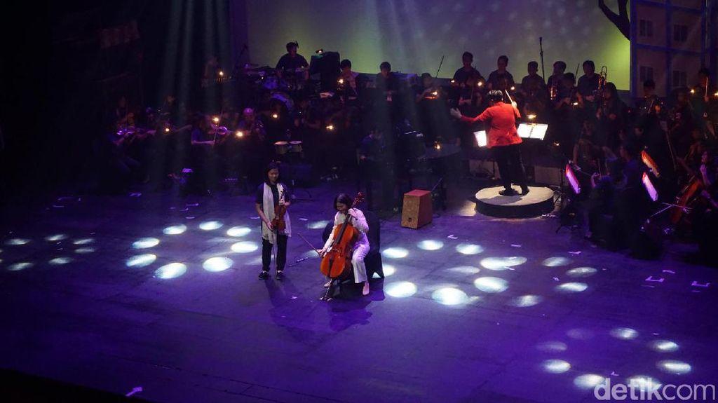Saat Istri dan Putri Ahok Main Musik di Operet Aku Anak Rusun