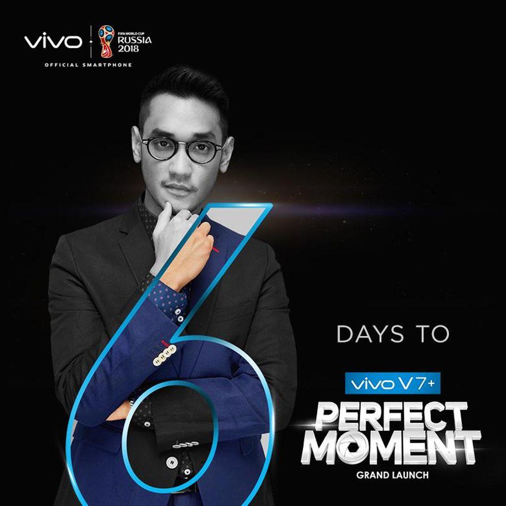 6 Hari Lagi Vivo V7+ Siap Diluncurkan