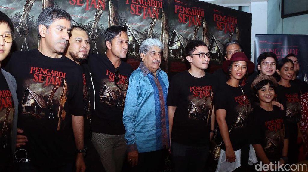 Kepiawaian Joko Anwar Gaet Seniman Senior di Film Pengabdi Setan