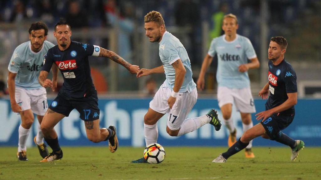 Comeback, Napoli Bekap Lazio 4-1
