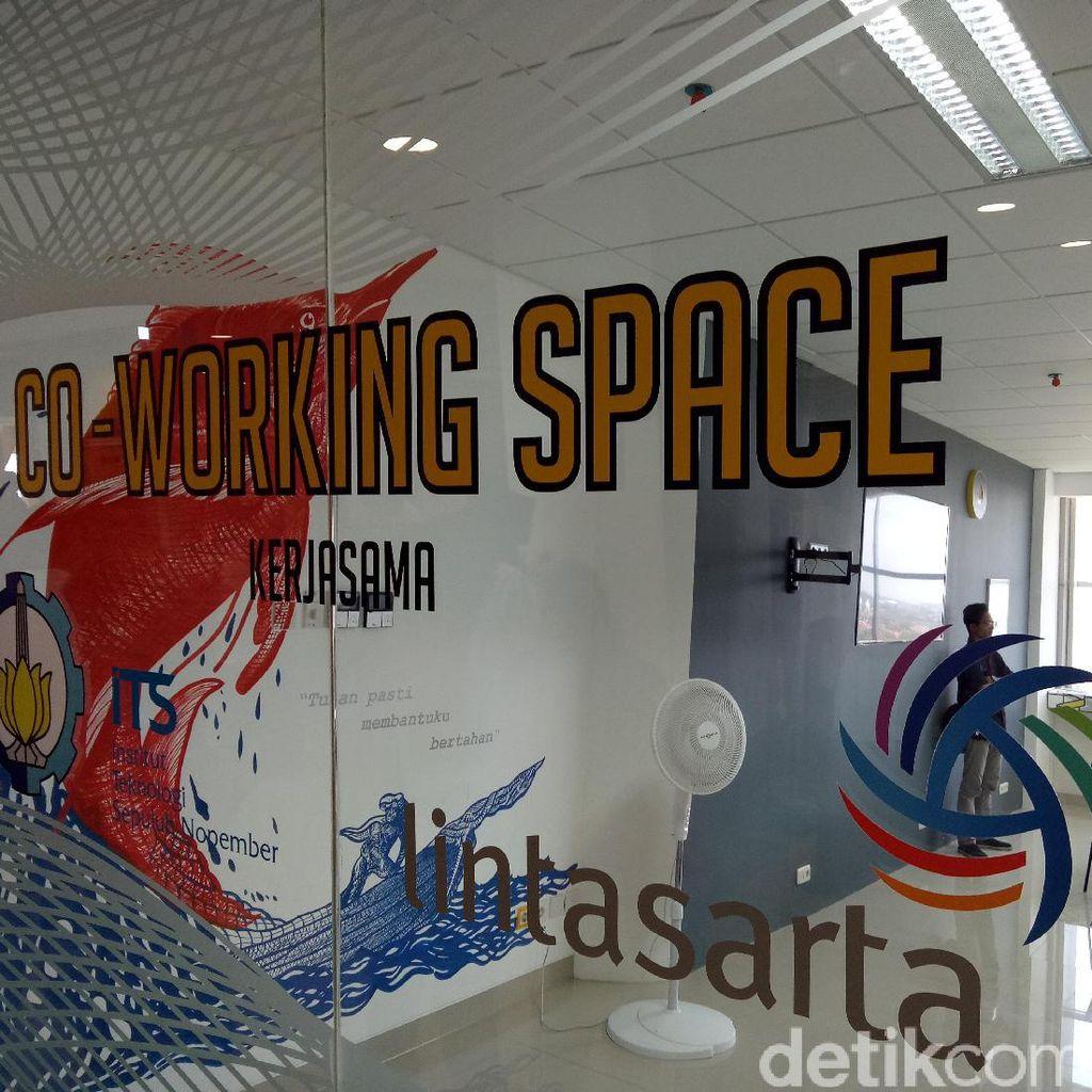 Keren! ITS Punya Co-Working Space buat Startup
