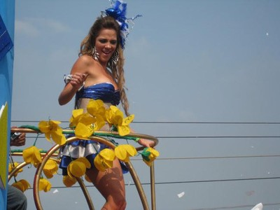 Foto: Lenggak-lenggok Wanita Cantik Kolombia