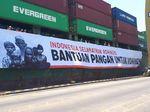 Mensos Khofifah Lepas Kapal Pembawa Beras 2.000 Ton ke Rohingya