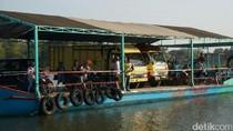 Jembatan Ploso di Jombang Diperbaiki, Bagaimana Truk Menyeberang?