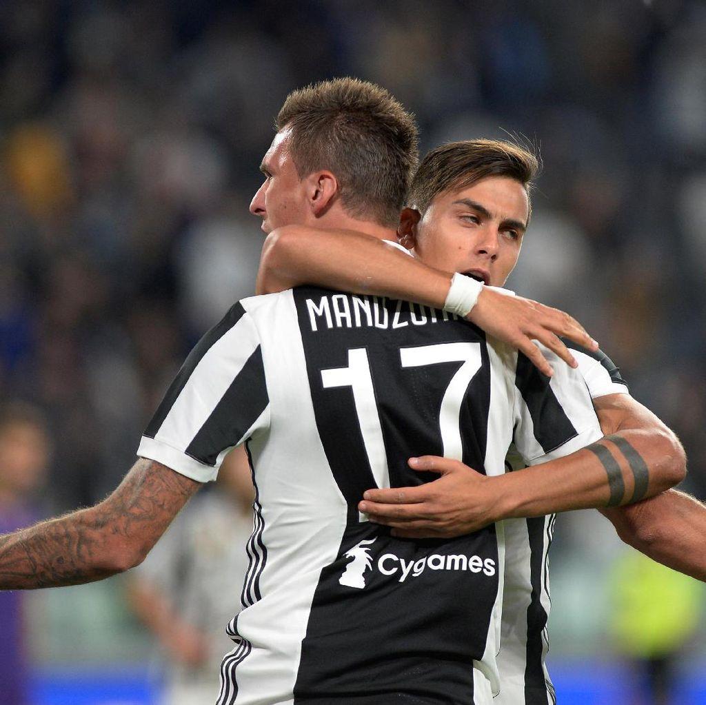Mandzukic Menangkan Juventus