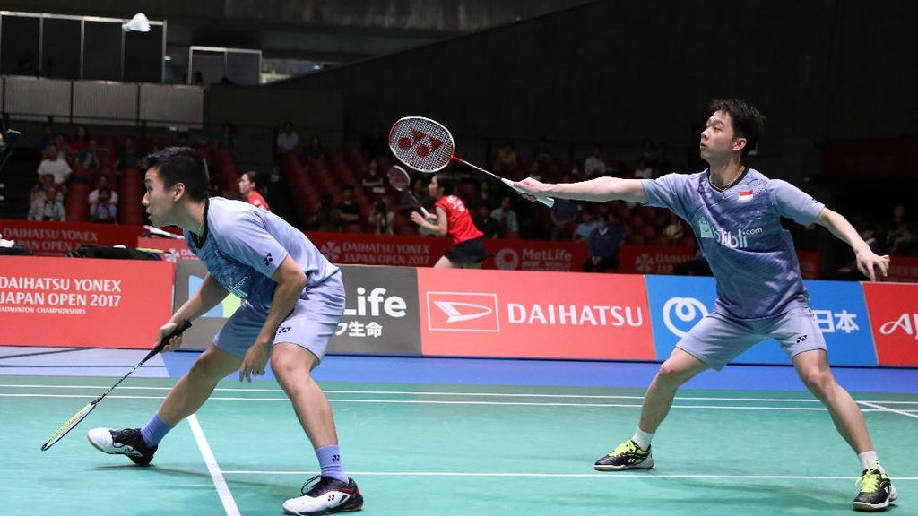 Kevin/Marcus Akan Jumpa Boe/Mogensen di Semifinal