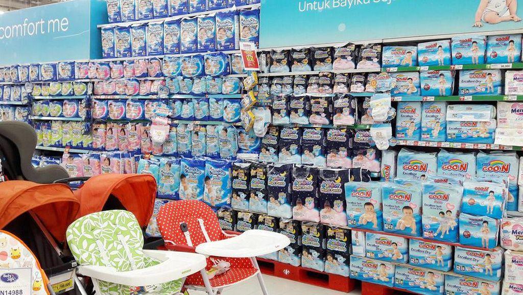 Aneka Promo Popok dan Sabun Anak di Transmart Carrefour