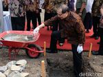 Batu Pertama Diletakkan, SMA Unggulan CT ARSA Sukoharjo Beroperasi 2018