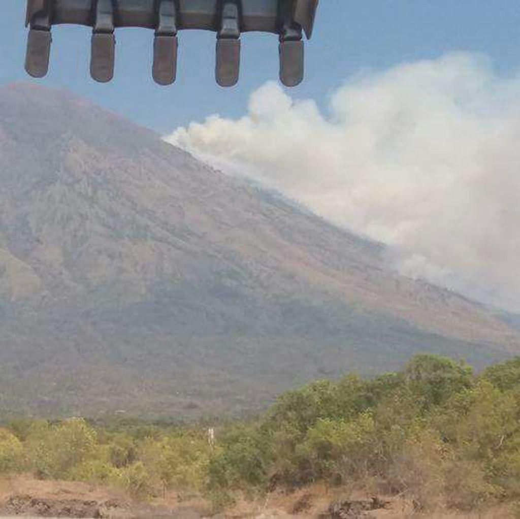 Gunung Agung di Bali Awas, Aktivitas Penerbangan Masih Normal