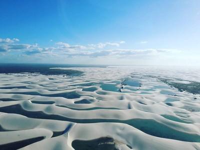 Foto: Bukan Pantai, Ini Gurun Pasir