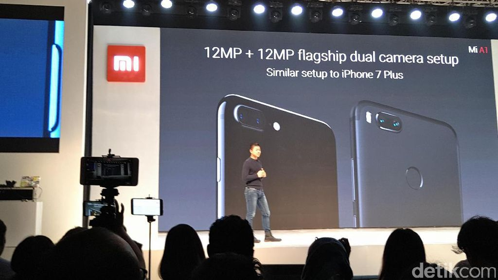 Kamera Ganda Xiaomi Mi A1 Setara iPhone 7 Plus?
