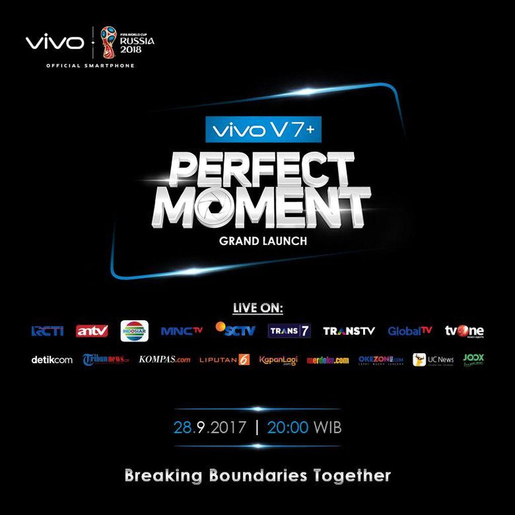 Menuju Momen Spesial Peluncuran Vivo V7+