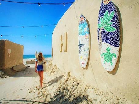 Foto: Penginapan yang Terbuat dari Pasir
