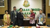Bahas Wewenang Penuntutan, Jaksa Malaysia dan Thailand Sambangi Kejati DKI