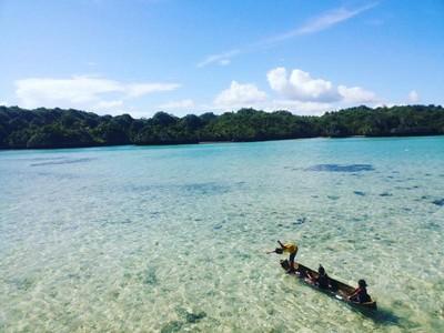 Tergoda Cantiknya Pantai Meleura di Pulau Muna