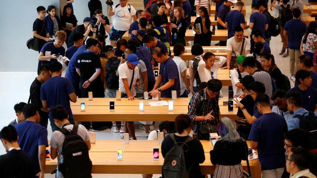Vietnam dan India Ikut Serbu iPhone 8 di Singapura