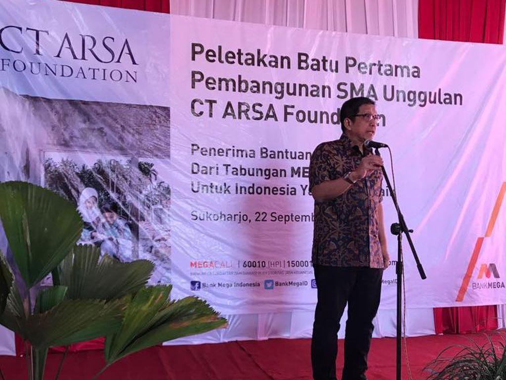 Sukses di Medan, SMA Unggulan CT ARSA Foundation Hadir di Surakarta